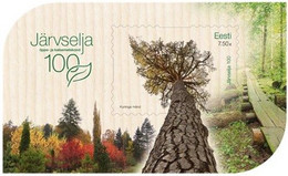 Estonia Estland Estonie 2021 (07) 100th Anniversary Of Järvselja Wood (souvenir Sheet) - Estland