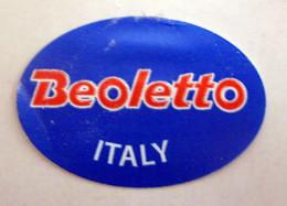 Beoletto Italy Mini Etichetta Fruit Frutta Adesiva Usata - Fruit En Groenten