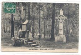 SCEY-sur-SAONE . NOTRE-DAME DE LORETTE . CARTE AFFR SUR RECTO LE 21-4-1911 . - Altri Comuni