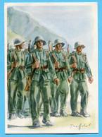 Grenzbesetzungkarte Kommandostäbe Zu Gunsten 5. Division Nr. 29 - Documents