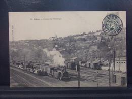 4773 . AGEN . COTEAU DE L ERMITAGE . 1907 . TRAIN . - Agen