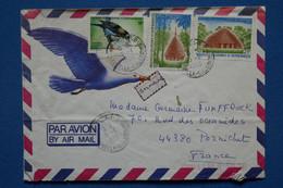 Q3  NOUVELLE CALEDONIE BELLE LETTRE 1989  NOUMEA POUR PORNICHET FRANCE + AFFRANCH. PLAISANT - Briefe U. Dokumente