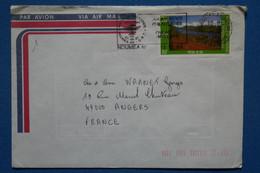 Q3 NOUVELLE CALEDONIE BELLE LETTRE 1986 NOUMEA POUR ANGERS FRANCE + AFFRANCH. PLAISANT - Briefe U. Dokumente