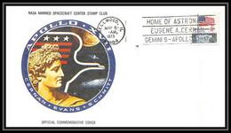 6706/ Espace (space Raumfahrt) Lettre (cover Briefe) 6/5/1973 Apollo 17 Cernan Bellwood USA - Estados Unidos