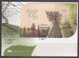 Estland 2021. Järvselja Forest Protection Area. FDC - Estonia