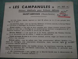 """""""LES CAMPANULES"""" (Alt. 850 M.) - Maison Médicale Pour Enfants Délicats - Saint-Gervais-les-Bains"""