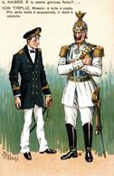 CPA - WW1 WWI Propaganda Propagande - KAISER - VILLANI - Umoristica Satirica, Humour Satirique - NV - KV141 - Oorlog 1914-18