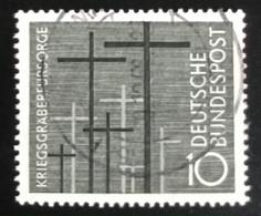 Deutsche Bundespost  - A1/7 - (°)used - 1956 - Michel 248 - Oorlogsgraven - Used Stamps