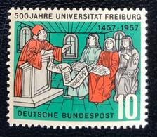 Deutsche Bundespost  - A1/7 - MNH - 1957 - Michel 256 - Universitiet Freiburg - Unused Stamps
