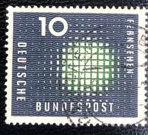 Deutsche Bundespost  - A1/7 - (°)used - 1957 - Michel 267 - Televisie - Used Stamps