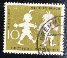 Deutsche Bundespost  - A1/8 - (°)used - 1958 - Michel 281 - Wilhelm Busch - Used Stamps