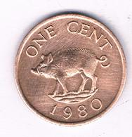 ONE CENT 1980 BERMUDA /3208/ - Bermuda