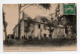 - CPA SAINT-GERMAIN-D'ARCÉ (72) - Château De Chauderue - Edition Huguet 637 - - Altri Comuni