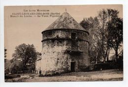 - CPA SAINT-LÉONARD-DES-BOIS (72) - Manoir Du Linthe - Le Vieux Pigeonnier - Edition ECKERT - - Saint Leonard Des Bois