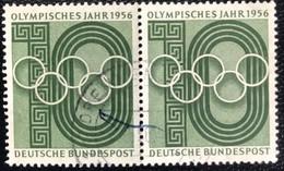 Deutsche Bundespost  - A1/8 - (°)used - 1956 - Michel 231 - Olympische Spelen - Used Stamps
