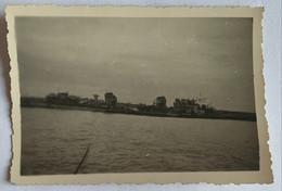 Bateaux. Militaire. Guerre. L'Audacieux Couché Sur Le Flanc. 1939-1945. - Barche