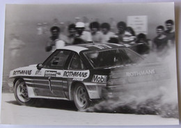 Rallye Rothmans 1000 Pistes 1983 - G. FREQUELIN Et J.F FAUCHILLE Sur Opel Manta 400 - Car Racing - F1