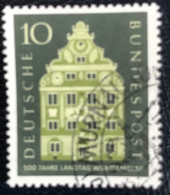 Deutsche Bundespost  - A1/8 - (°)used - 1957 - Michel 279 - Landtag Wûrttemberg - Used Stamps