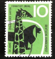 Deutsche Bundespost  - A1/8 - (°)used - 1958 - Michel 288 - Dierentuin Frankfurt - Used Stamps