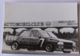 Hockenheim 1983 - Victoire De La Peugeot 505 Turbo Injection - Autorennen - F1