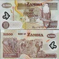 Zambia 2008 - 500 Kwacha - Pick 43 UNC Polymer - Zambia