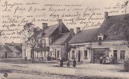37 -- Bossée -- Partie De La Place -- Boulangerie -- Correspondance émouvante  --- 3640 - Otros Municipios