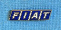 1 PIN'S //   ** LOGO / FIAT ** - Fiat