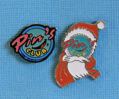 2 PIN'S //   ** PIN'S VINTAGE COLLECTION / PIN'S CLUB NOËL ** - Natale