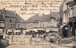 28-ILLIERS- LA PLACE DU MARCHE - Illiers-Combray