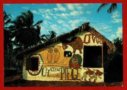 MAYOTTE  Carte N° 117 édit. SHOPPING Photo Ch. Vaisse CASE BANGA écrite Au Dos Datée 1994  TB - Mayotte