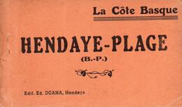 (15/04/21) 64-CPA HENDAYE - CARNET DE 9 CPA - Hendaye