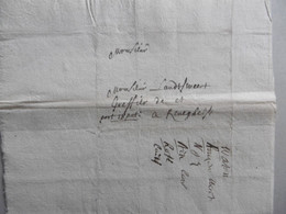 LAC IPRE (Ieper) Vers Landtsweert Greffier à Reneghels (Reningelst) Port 18 Patars 2 Florins Au Porteur. 26 Mars 1713 ! - Manuscripts