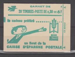 FRANCE CARNET FERME DE 20 TIMBRES CHEFFER 0,30 LILAS 1536 C3 - Freimarke