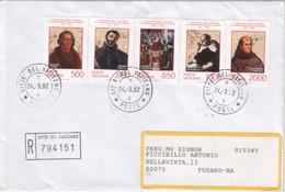 """Vaticano - 1992 - FDC - """"5° Centenario Della Scoperta Dell'America"""" S. Cpl 5v - FDC"""
