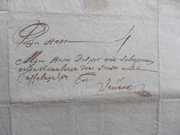 LAC  De Ghendt (Gent, Gant) Vers FURNES (Veurne12 Juli 1728, Despot Schepen En Keurheer. Aankoop Boter (!!) 4 Solz - Manuscripts