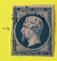 YT 14B - B - Planché Panneau A1 Position 12 état 2 - Filets Intacts - 1853-1860 Napoleon III