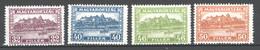 Ungheria 1929 Unif.451/54 **/MNH VF/F - Nuovi