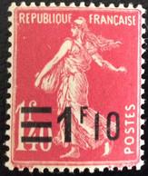 N° 228  NEUF ** SANS CHARNIÈRE ( LOT:93 ) - 1906-38 Säerin, Untergrund Glatt