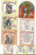 Etiquette De Bière France Brasserie La Choulette Sans Culottes 4 étiquettes Avec Contre étiquette - Bier