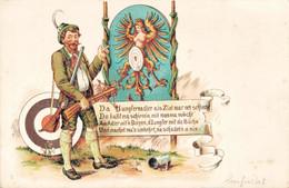 79513- Schützen Jagd Da Junfernadler Als Ziel War Net Schlecht Jux Homor - Tiro (armas)
