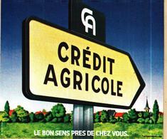 Autocollant   -    CA  CREDIT AGRICOLE   Le Bon Sens Près De Chez Vous - Adesivi