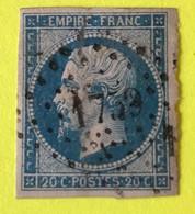 YT 14B - TB -  Bien Margé - Planché Panneau A1 Position 19 - 1853-1860 Napoleon III