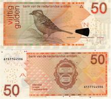 NETHERLANDS ANTILLES      50 Gulden      P-30h       1.8.2016      UNC - Netherlands Antilles (...-1986)
