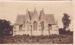 Photo De Particulier Morbihan  Le Faouët  Chapelle Saint Sébastien Vue De L'arriere Réf 4312 - Lugares