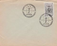 Enveloppe 1447 Jumelage Coopération Leuze Loudun Ouagadougou - Brieven En Documenten
