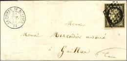 Grille / N° 3 Càd T 15 LA POINTE ST SULPICE 77. 1849. - TB / SUP. - 1849-1850 Ceres