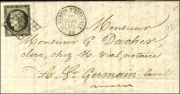Grille / N° 3 Càd T 15 ST MARTIN D'ESTREAUX 84. 1850. - SUP. - 1849-1850 Ceres