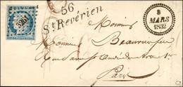 PC 3261 / N° 4 Cursive 56 / St Revérien Dateur B. 1852. - SUP. - R. - 1849-1850 Ceres