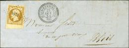 PC 3171 / N° 9 Bdf (belles Marges) Càd T 22 ST LUBIN-EN-VERGOMOIS (40) 23 OCT. 54 Sur Lettre Locale Pour Blois. Superbe  - 1852 Louis-Napoleon