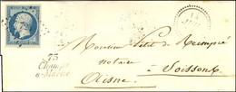 PC 725 / N° 10 Belles Marges Cursive 73 / Champs / S-Marne, Dateur B. 1853. - TB / SUP. - R. - 1852 Louis-Napoleon